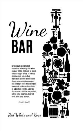 ワインのカード。