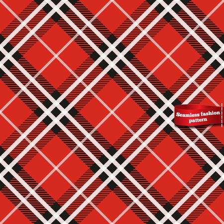 Modèle de tissu tartan Seamless Vecteurs