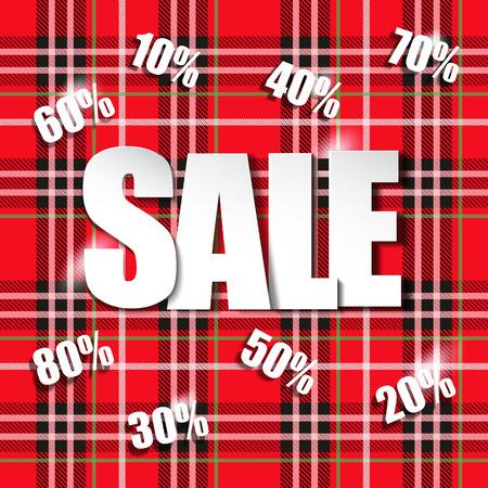 salesmen: Sale illustration Illustration