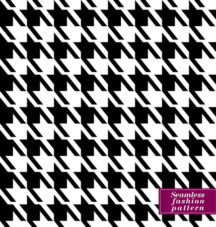 Seamless fashion pattern. Vector stock cage pattern. Illustration