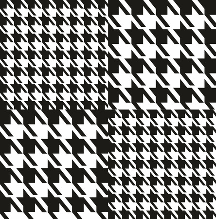coco: Seamless fashion fabric pattern. Dog toth texture.