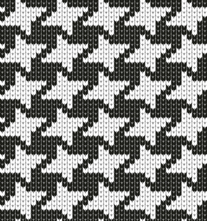 contrasts: Seamless fashion pattern. Vector stock cage pattern. Illustration