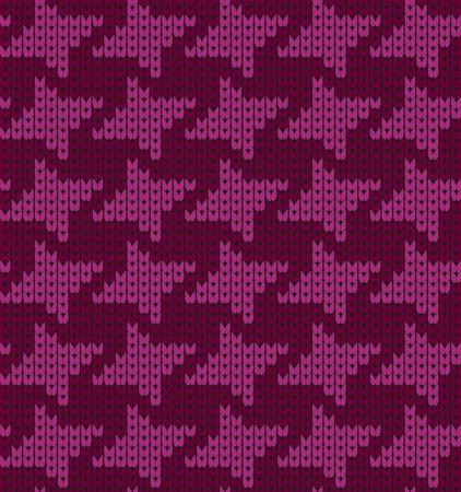 bind: Seamless pattern goose-foot. Violet design texture.