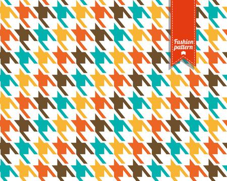 Moda in tessuto Seamless pattern. Cane consistenza toth. Archivio Fotografico - 39276582