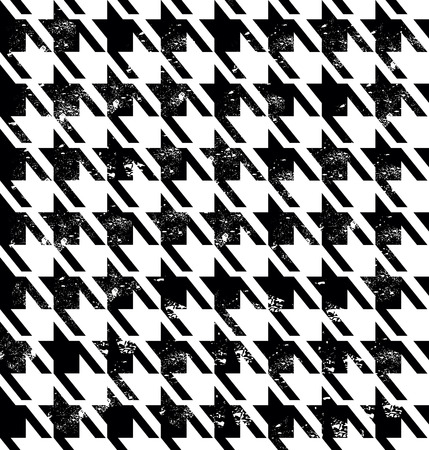 Naadloze mode-patroon. Vector stock tweed patroon.