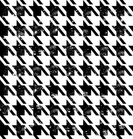 stock vector: Seamless fashion pattern. Vector stock tweed pattern.