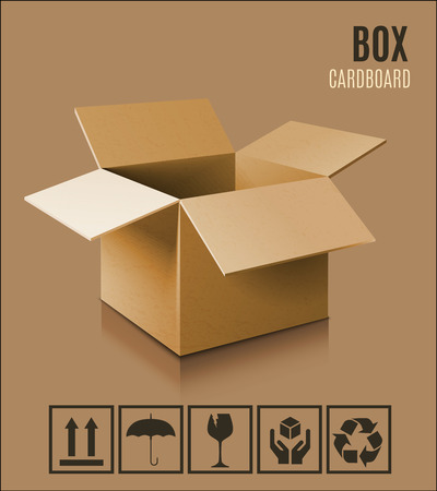 shadow box: 3d box icon