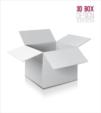 골판지 상자의 아이콘입니다.