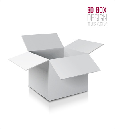 Boîte en carton icône. Banque d'images - 38949533