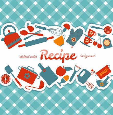 kitchen knife: Cocina fondo abstracto.