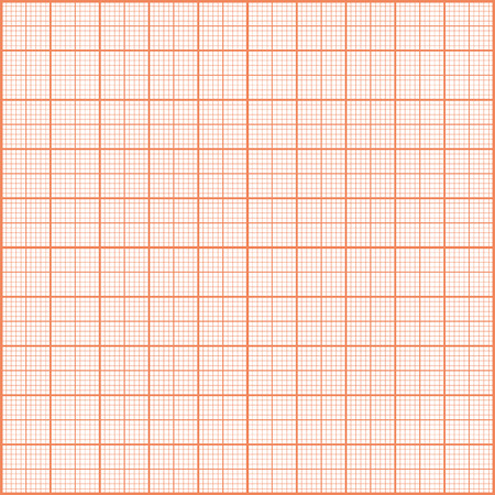 hoja cuadriculada: Textura de impresi�n Rojo. Papel cuadriculado.