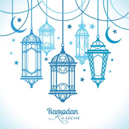 ラマダン カリーム。イスラムの背景。