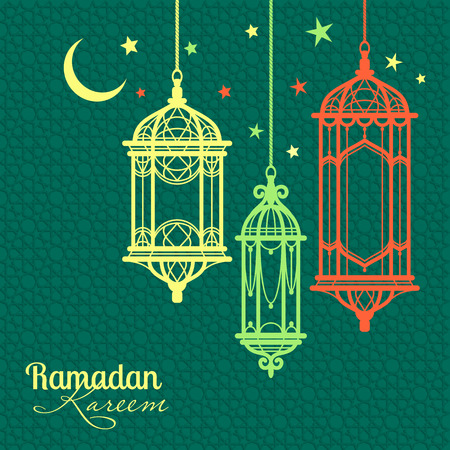 Ramadan Kareem. Islamic background. lamps for Ramadan. Imagens - 40913026