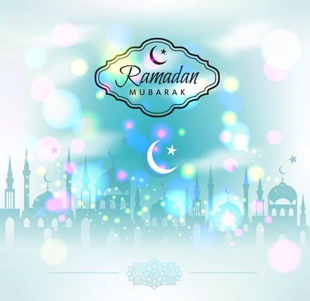ramadhan: Ramadan Kareem abstract background.