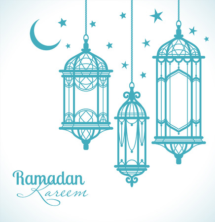 islamic art: Ramadan Kareem. Islamic background.