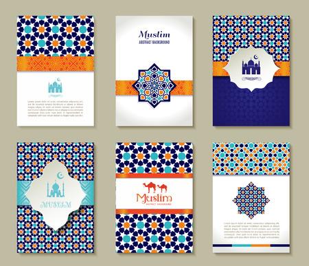 Banners set of islamic.