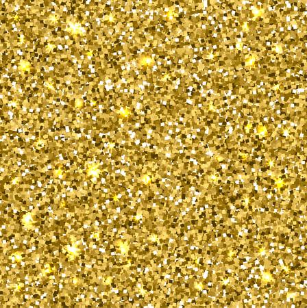 Scintillio dell'oro senza soluzione di tessitura.