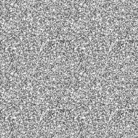 gray pattern: Glitter silver shiny seamless pattern in grey. Vector texture. Illustration