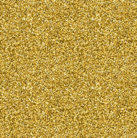 Golden glitter texture. Celebration metallic background.