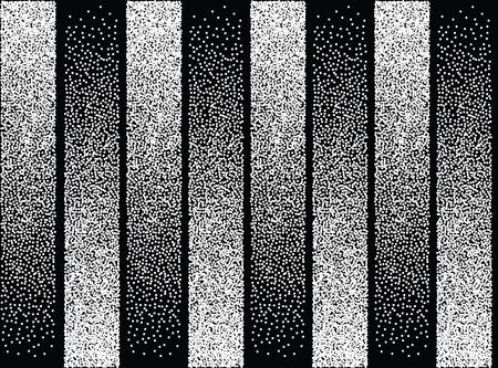 Modèle sans couture abstrait géomertique avec des couleurs noir et blancs. Vecteurs