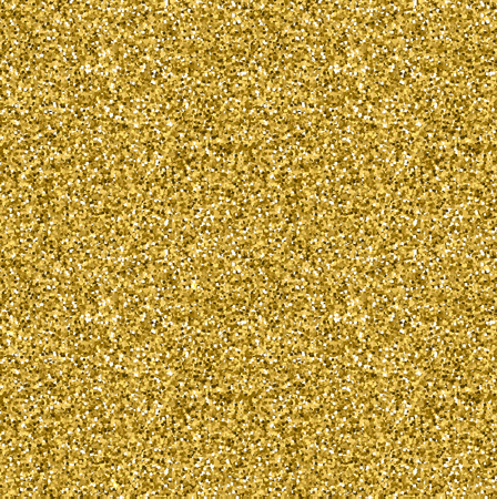 Gold glitter seamless texture. Stock Illustratie