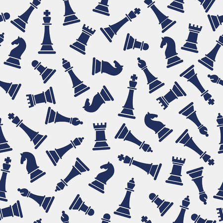 Chess pieces on a white background.