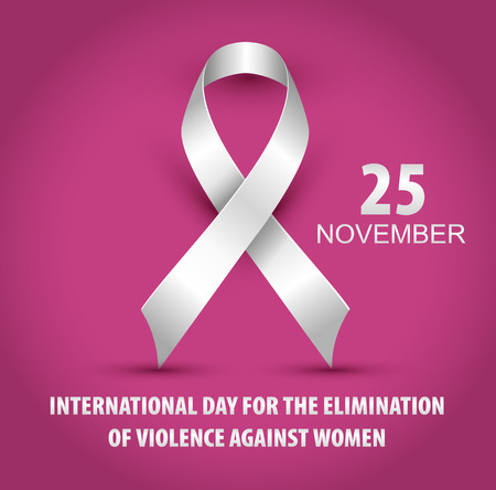 Illustration For International Day for the Elimination of Violence Against Women.