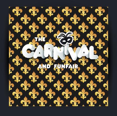 Carnival or Mardi Gras decoration