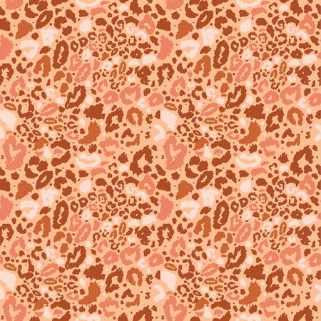 Seamless leopard wild nature pattern.