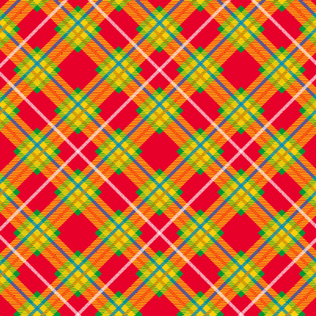 Tartan pattern. Scottish plaid. Scottish cage.