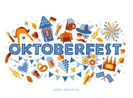 Oktoberfest flyer, banner
