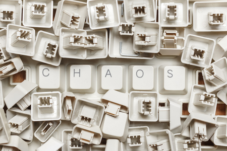 Word chaos from a heap of computer keys