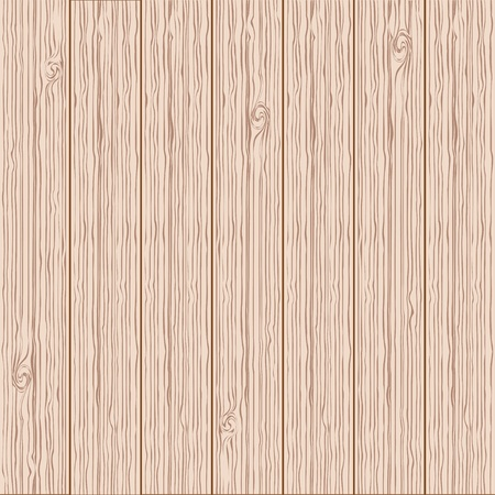 vector realistic wood texture background, light brown color Vector
