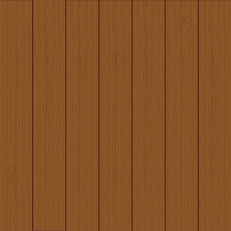 smooth wood: vector realistic wood texture background, brown color Illustration