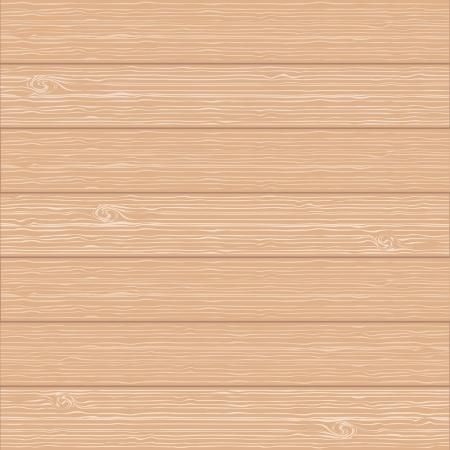 réaliste la texture de fond du bois, la lumière de couleur brun Vecteurs