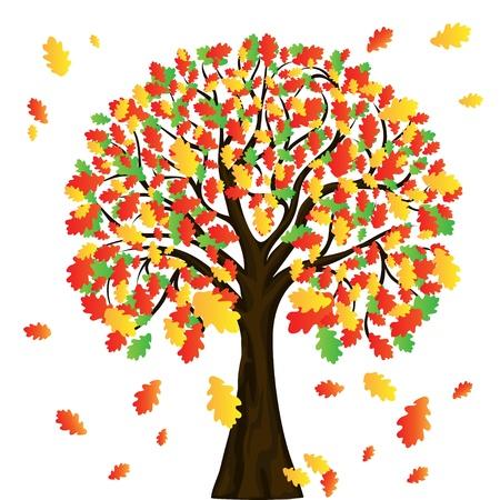 arbre automne pour la conception de votre