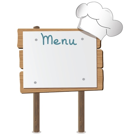 Cafe menu design Vector