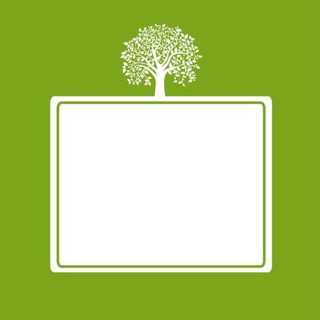 Tree background,  Vector