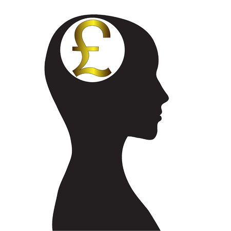 Thoughts on welfare  The pound sterling Stock Vector - 14233570