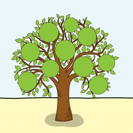 leafage: Tree  Illustration