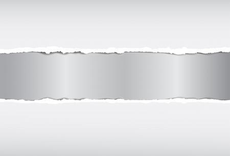 Zerrissenes Papier Vektorgrafik