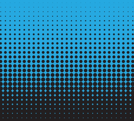 vector halftone for backgrounds and design Illustration