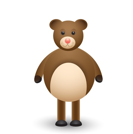 Good teddy bear Vector