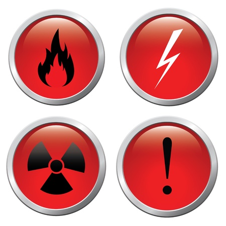 Set of buttons Stock Vector - 14652722