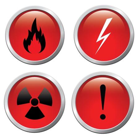 oxidant: Set of buttons