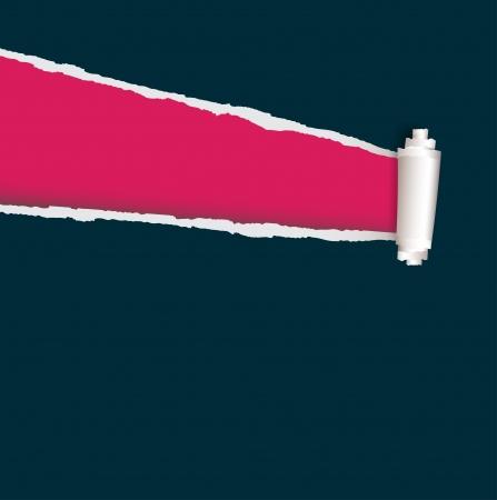 lacrime: colori di carta strappati vivaci e design per la prova Vettoriali