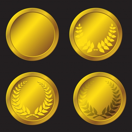 set of gold medals in the vector Vector