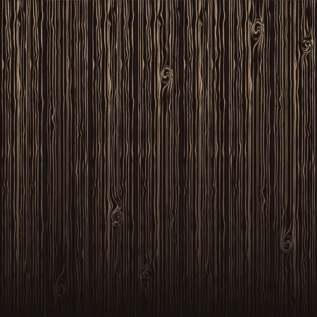 black floor: vector stylized wood texture background, black and gold color