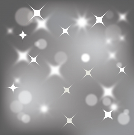 Light silver abstract background with white elements Vector