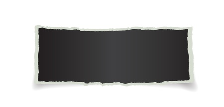 piece of paper with space for text Vector